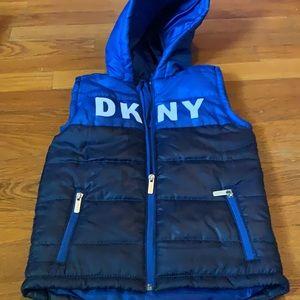 DKNY fall vest top size 5t